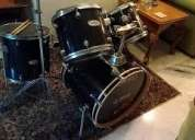 Mapex kit + cymbals + 5 piece kit bag + heavy duty boom stands