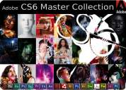 Adobe creative suite master collection cs6, full version-for windows/ mac (home delivery)