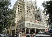3room,hall,1490sqft commercial office semifrnisd  renttriangular park.on road.great office