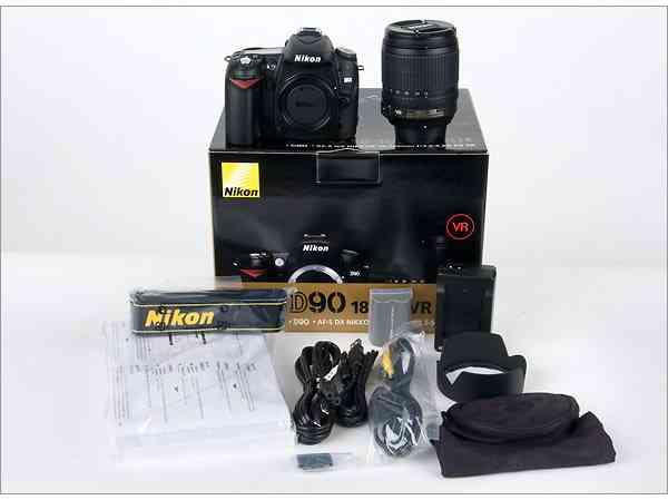 Nikon D90 Digital Camera with 18-135mm Lens...$520