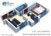 Luxury residences apartment  for sale in kalyan-dombivali