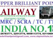 Coaching centres for rrb, loco pilot in delhi/ncr