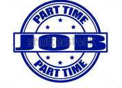 Part time job offers for unemployed/ employed