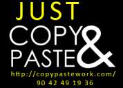 Copy paste workers required urgently chennai