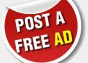 Free online classifieds site, non registration classified site ,free ads, post free classifieds,