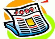 Great opportunity for freshers,students,housewives & retired person- work from home!!