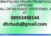 non voice projects with advance payments
