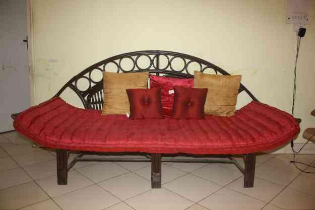 A Cane Sofa Set Gurgaon Home Furniture Garden Supplies Sushant Lok