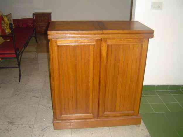 Beautiful Teak Wood Folding Bar Cabinet Bangalore Home Furniture Garden Supplies