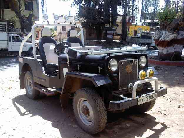 Mahindra and mahindra jeep #3