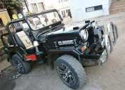 Modified mahindra classic jeep