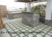 New apartment,with terrace garden & furnished 9891303033 (defence colony, south delhi)