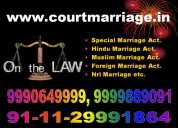 Contact us for court and araya samaj marriages