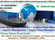 Logistic order management software in thiruvananthapuram