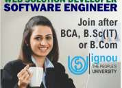 Become software engineer after b.sc (non-medical) contact 9878100815