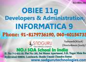 Obiee  coaching institute in india@sadguru technologies