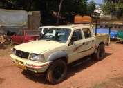 Tata mobile 207 di ,double cabin , run 46000 km, good condition