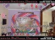 Balloon decoration in hyderabad,balloon decorator in hyderabad,birthday party organiser