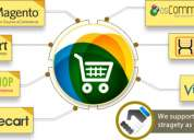 Oscommerce website development, e-commerce software solutions