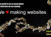 We are making websites