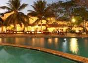Accomodation in luxurious sterling resort in goa between 24 nov -1 dec