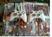 Full creck x box 2 controlar with 35 game cds