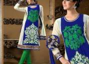 Chenai express exclusive designer suits on wholesale only