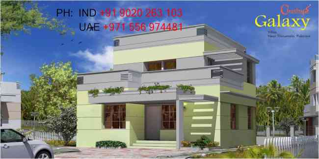 Chothys Builders Budget Villas in Trivandrum 9020263103